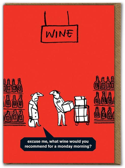 Monday Morning Wine Card