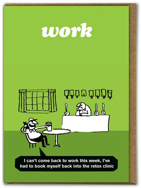 Work Retox Clinic Card