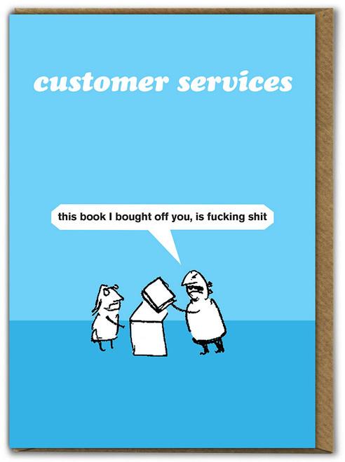 Customer Services Book Card