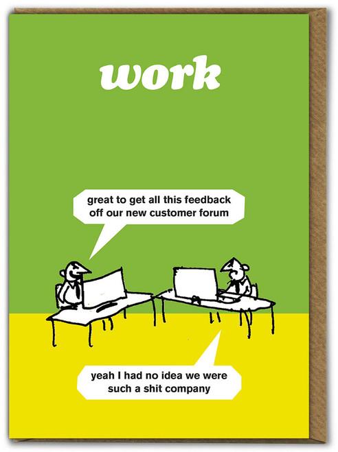 Customer Feedback Card