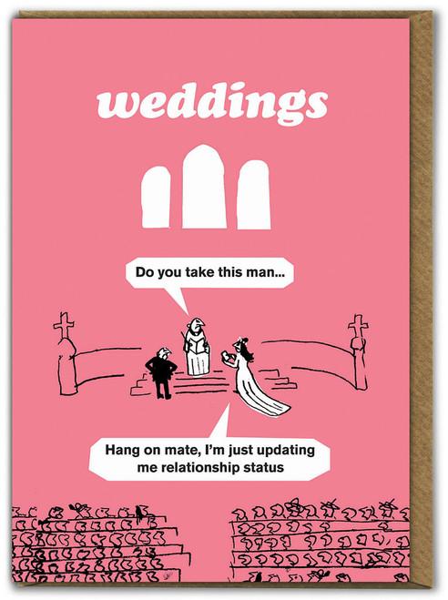 Wedding Facebook Card