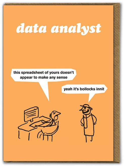 Data Analyst Card