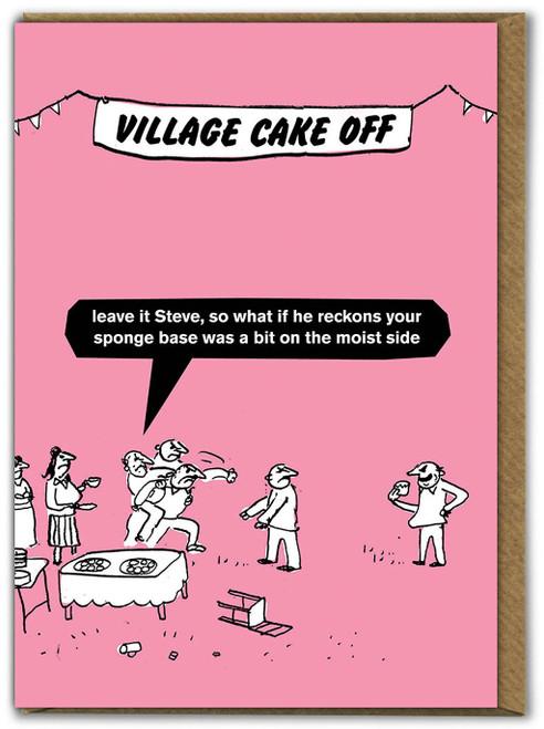 Village Cake Off Card