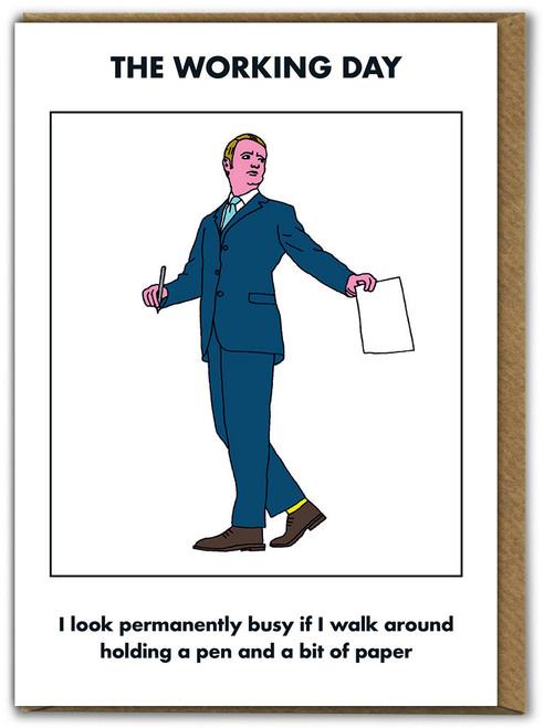 Working Day Walk Around Card