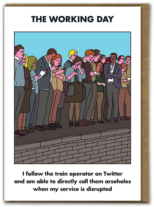 Working Day Train Twitter Card