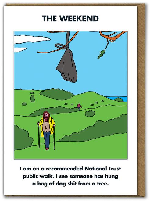Weekend National Trust Walk Card