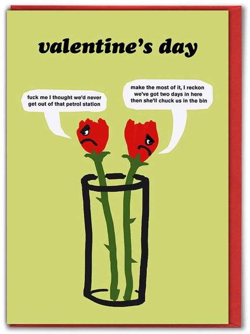 Roses Petrol Station Valentine