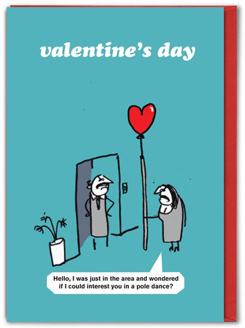 Pole Dancing Valentine