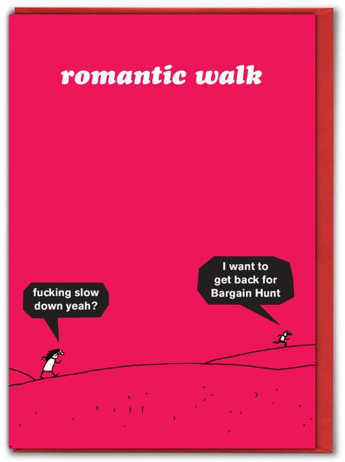 Romantic Walk Valentine
