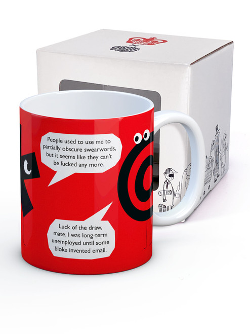 Can't Be Fucked Mug