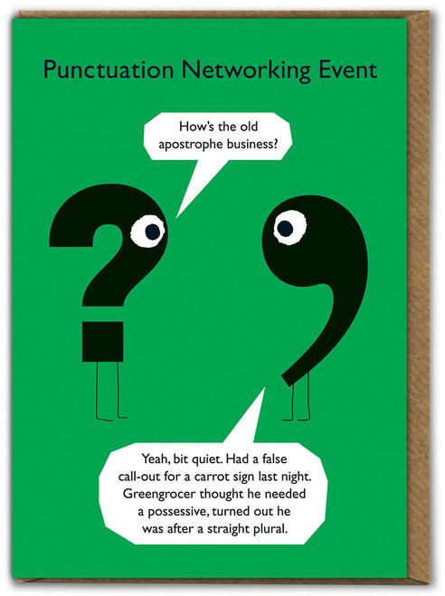 Punctuation Apostrophe Business Card
