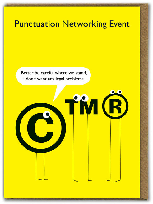 Punctuation Legal Problems Card
