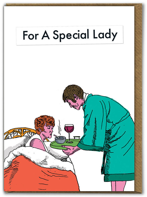 For a Special Lady Card