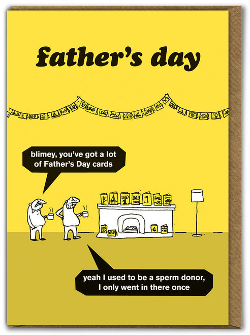 Father's Day - Sperm Doner Card