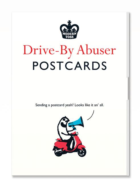Drive-By Abuser Postcard Set