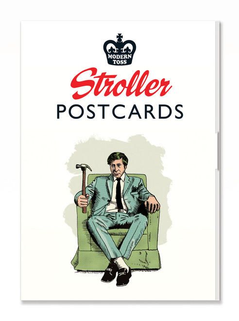 Stroller Postcard Set