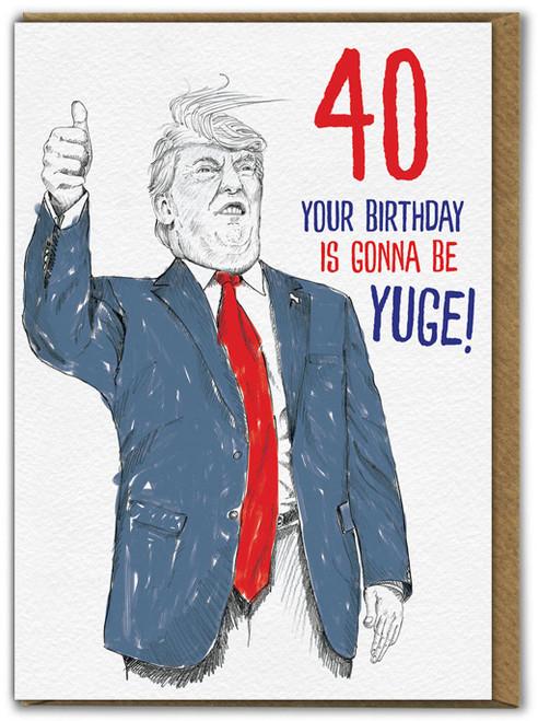 Donald 40th Birthday