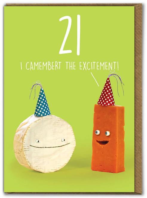 Camembert 21st Birthday
