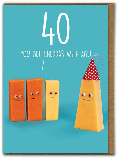 Cheddar 40th Birthday