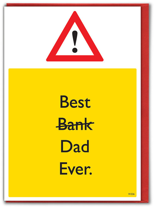 Best Bank Father's Day Card