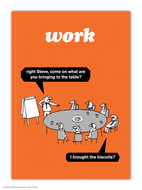 Work Biscuits A6 Notebook / Notepad