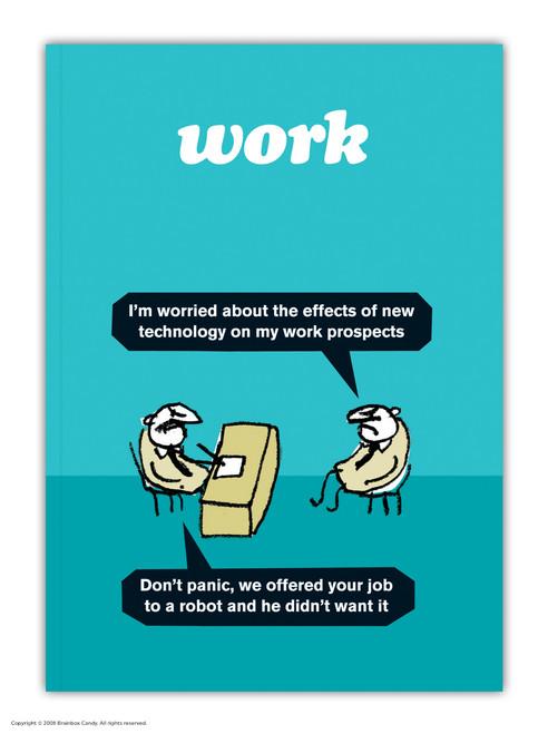 Work Robot A6 Notebook / Notepad