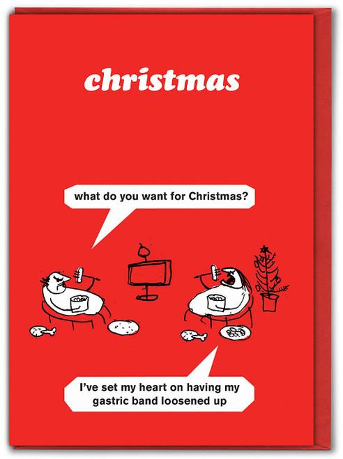 Gastric Band Christmas Card