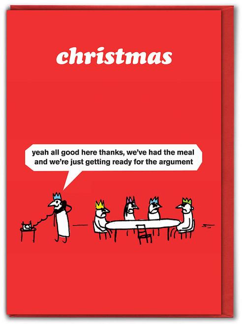 Christmas Argument Card