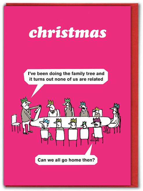 Family Tree Christmas Card