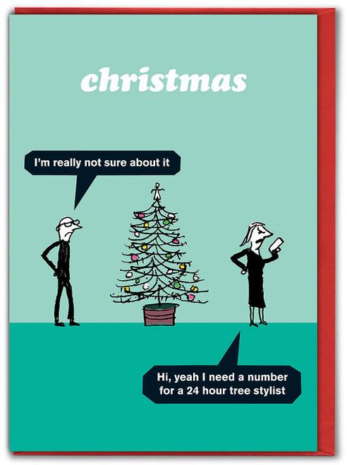 Tree Stylist Christmas Card