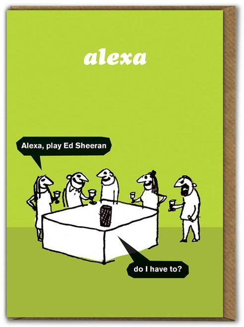 Play Ed Sheeran Card