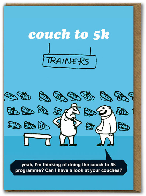 Couch to 5k Card