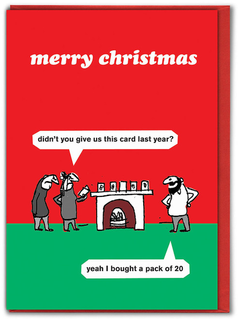 Card Pack Christmas Card