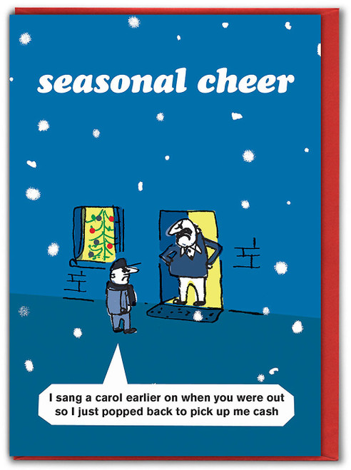 Carol Singer Christmas Card