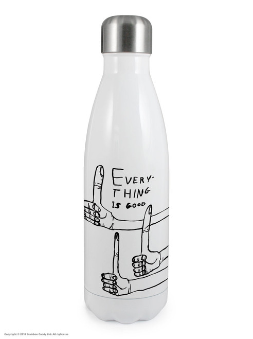 Everything Is Good - David Shrigley Thermal Water Bottle