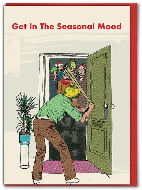 Seasonal Mood Christmas Card