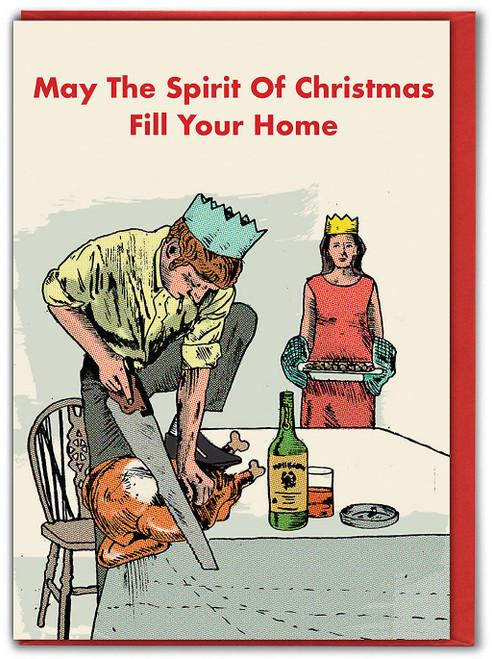 Spirit Of Christmas Xmas Card