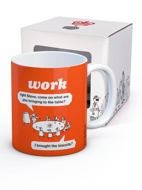 Work Biscuits Boxed Mug