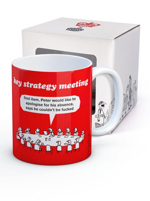 Key Strategy Meeting Boxed Mug