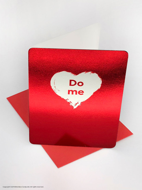 Do Me (Red Foiled) Valentine's Day Card