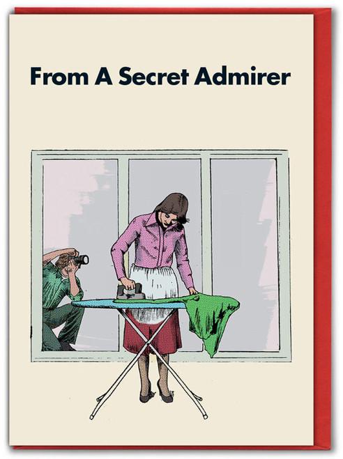 Secret Admirer Ironing Valentine