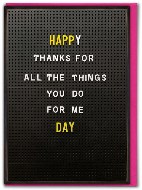 All The Things Mother's Day Card