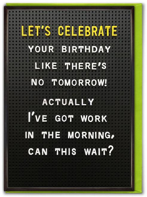 Celebrate Your Birthday Card