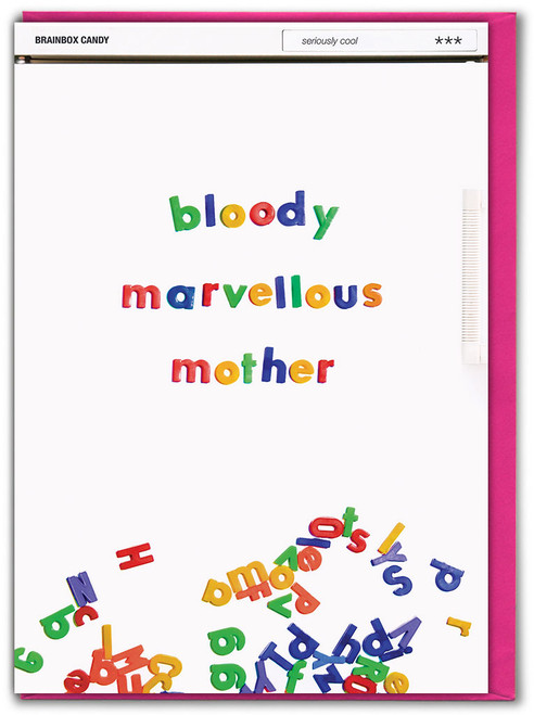 Bloody Marvellous Mother Mother's Day Card