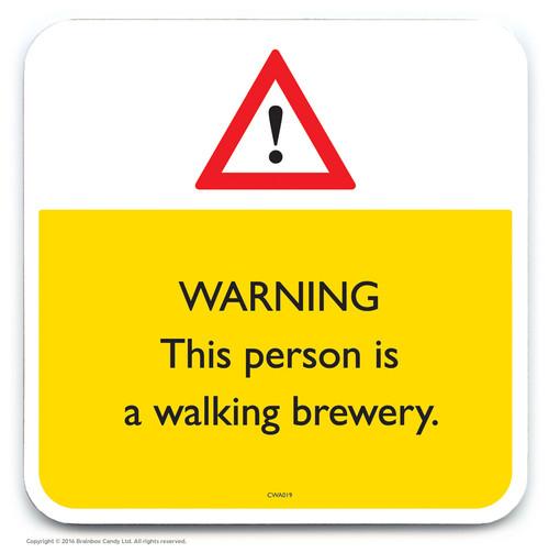 SALE - Walking Brewery Coaster