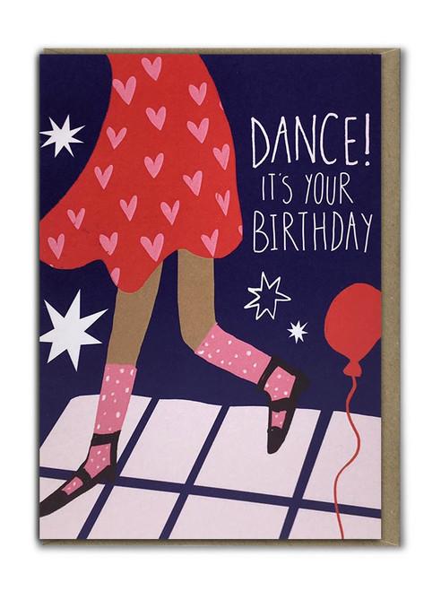 Dance Birthday Card