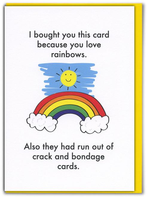 Love Rainbows Card