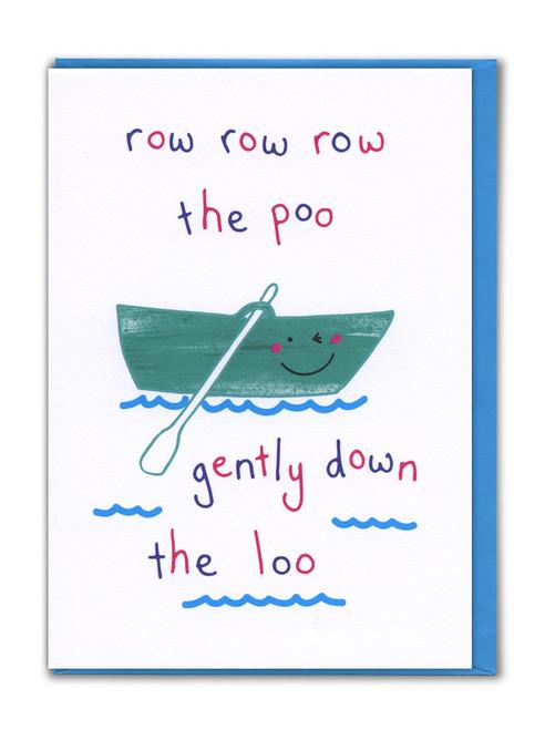 Row Row Row Card