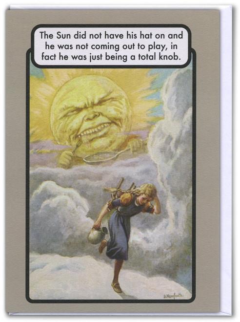 Sun Is A Knob Card