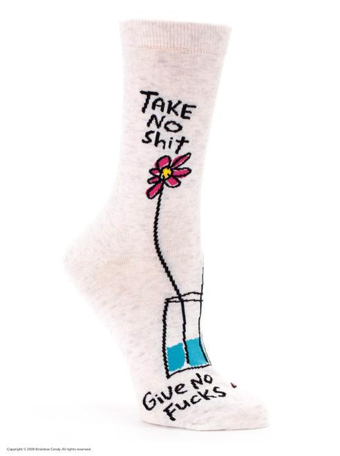Take No Shit Women's Socks